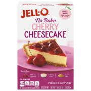 Jell-O No Bake Cherry Cheesecake Dessert Mix