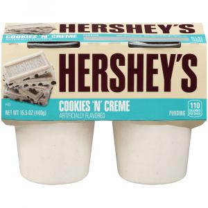 Hershey's Ready To Eat Cookies And Cream Pudding