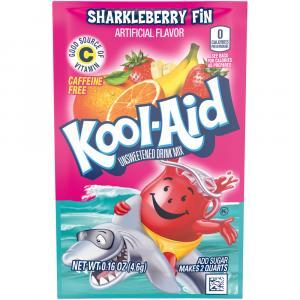 Kool-aid Sharkleberry Fin Unsweetened Drink Mix