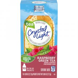Crystal Light On The Go Green Tea Raspberry Drink Mix