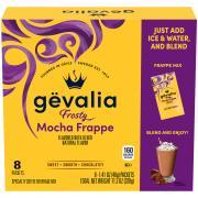 Gevalia Mocha Frappe Specialty Coffee Beverage Mix