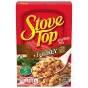 Stove Top Turkey Stuffing Mix