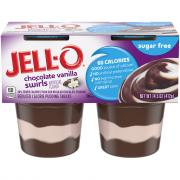 Jello Sugar Free Chocolate Vanilla Swirls