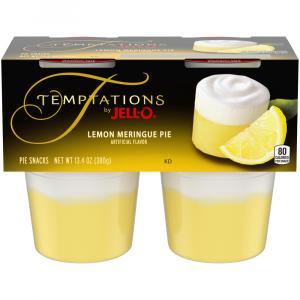 Jell-O Temptations Lemon Meringue Pie