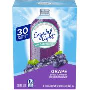 Crystal Light w/ Caffeine On the Go Packets Grape