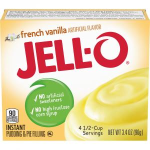 Jell-O Instant French Vanilla Pudding Mix