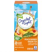 Crystal Light Natural Green Tea Peach Mango Drink Mix
