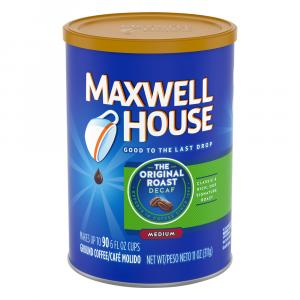 Maxwell House Original Blend Decaf Ground Coffee