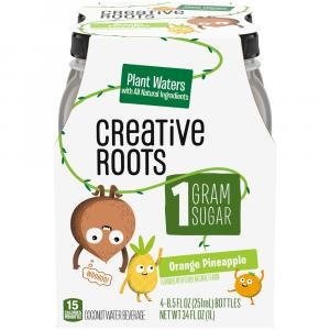 Creative Roots Orange Pineapple Coconut Water Beverage