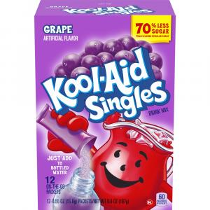 Kool-aid Grape Singles Drink Mix