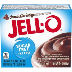 Jell-O Sugar Free Chocolate Fudge Pudding Mix