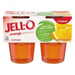 Jell-o Orange Gelatin Snacks