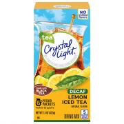 Crystal Light Decaffeinated Ice Tea Drink Mix