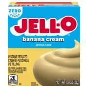 Jell-O Sugar Free Banana Pudding Mix