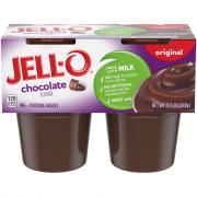 Jell-O Chocolate Pudding Snacks