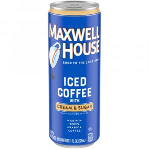Maxwell House Iced Coffee With Cream & Sugar