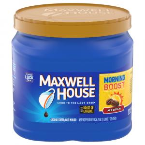 Maxwell House Morning Boost Medium Can