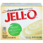 Jell-O Cheesecake Instant Pudding Mix