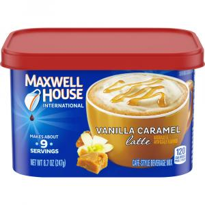 Maxwell House International Cafe Vanilla Caramel Latte