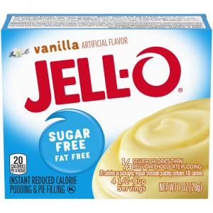 Jell-O Sugar Free Vanilla Instant Pudding Mix
