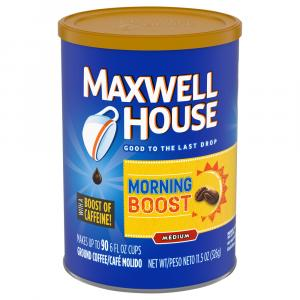 Maxwell House Morning Boost Medium Coffee