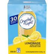 Crystal Light On the Go Packets Lemonade