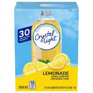 Crystal Light On the Go Packets Lemonade