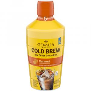 Gevalia Cold Brew Caramel Iced Coffee Concentrate
