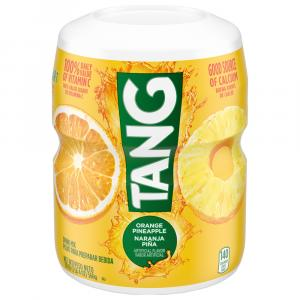 Tang Orange Pineapple Drink Mix Canister