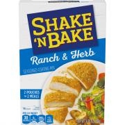 Shake 'N Bake Ranch & Herb Seasoned Coasting Mix