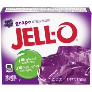 Jell-O Grape Gelatin