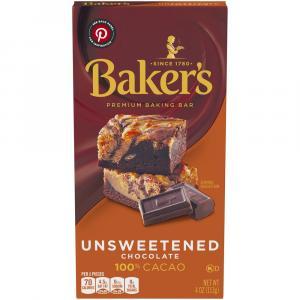 Baker's Unsweetened Chocolate