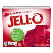 Jell-O Cherry Gelatin