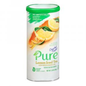 Crystal Light Pure Lemon Iced Tea Sweetened Drink Mix