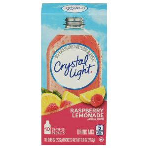 Crystal Light On the Go Raspberry Lemonade Drink Mix