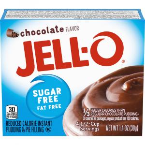 Jell-O Sugar Free Chocolate Instant Pudding Mix