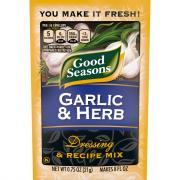 Good Seasons Garlic & Herbs Dressing & Recipe Mix