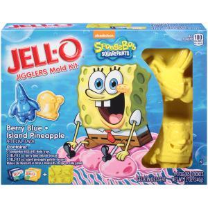 Spongebob Jell-o Jigglers Mold Kit