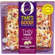 O That's Good! Thin Crust BBQ Chicken Pizza