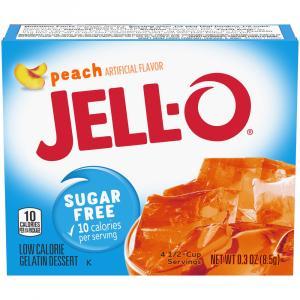 Jell-o Sugar Free Peach Gelatin