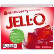 Jell-O Strawberry Gelatin