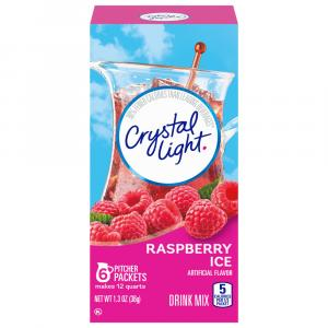 Crystal Light Raspberry Iced Tea Drink Mix