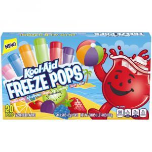Kool-aid Freeze Pops Assorted Flavors