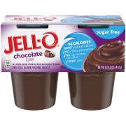 Jell-O Sugar Free Chocolate Flavored Pudding Snacks
