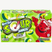 Kool-Aid Sour Jammers Snappin' Green Apple