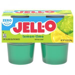 Jell-o Sugar Free Lemon Lime Gelatin Snacks