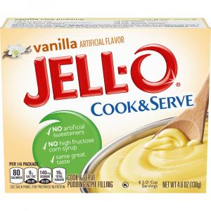 Jell-O Vanilla Pudding Mix