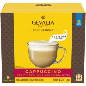 Gevalia Cappuccino Specialty Coffee Beverage Blend