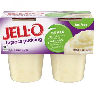 Jell-o Tapioca Fat Free Pudding Snacks