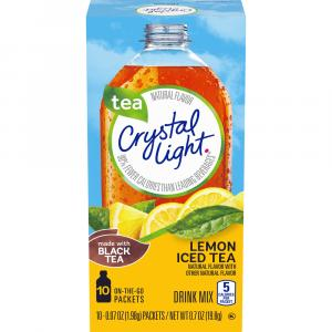 Crystal Light On the Go Iced Tea Drink Mix